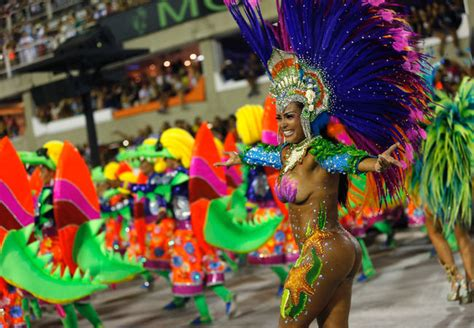 brazil painting festival top 10 costumes at de janeiro carnival 2016 photos