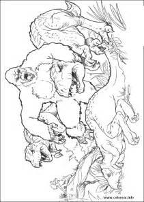 king kong godzilla coloring pages