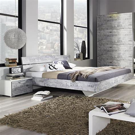 nachttisch grau schlafzimmer bettanlage sumatra schlafzimmer bett nachttisch