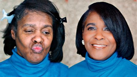 makeup for 62 year old makeup on my 62 year old grandma watch her transform