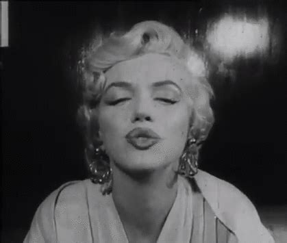marilyn monroe kiss gif   find amp share on giphy