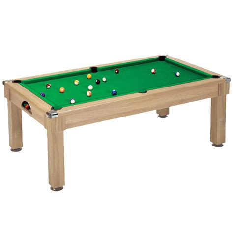 pool table dining oak dpt dining pool table leisure