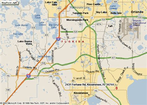 poinciana florida map map of kissimmee world map 07