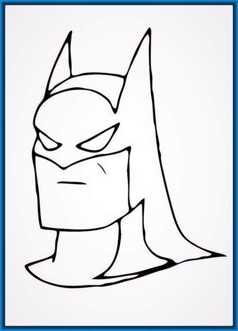 imagenes del guason para dibujar faciles ver dibujos cara de batman para colorear archivos