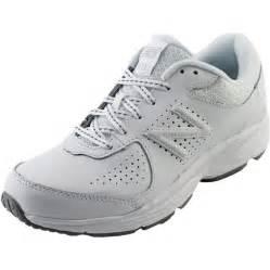 new balance ww411 4e leather white walking shoe athletic