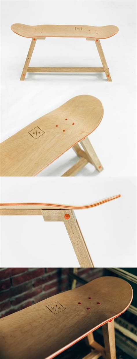 skateboard furniture quot the wood one quot skateboard furniture by bakedroast