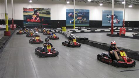 fast indoor kart racing las vegas go cart racing