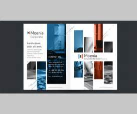 brochure templates exles modern business brochure psd templates free