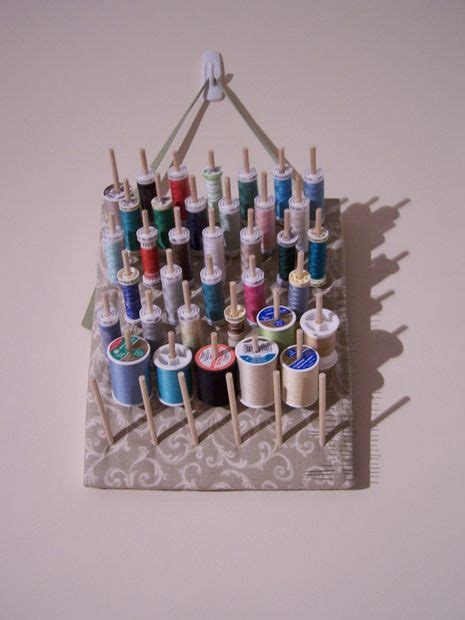 Diy Thread Rack by How To Make A Simple And Stylish Thread Rack