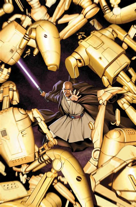 mace windu goes in new marvel comic exclusive