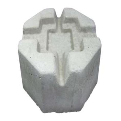 Home Depot Deck Blocks 6 in x 10 in x 10 in precast concrete pier block 709537 the home depot