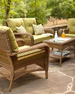 martha stewart living patio furniture wicker loveseats and martha stewart on