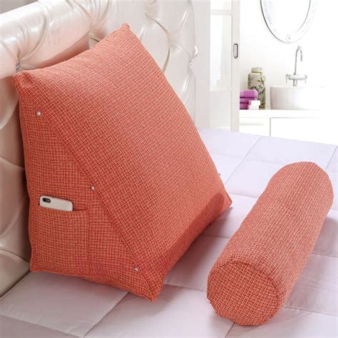 lumbar pillow for bed aliexpress com buy ihad stereo triangle cushion bed