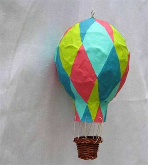 How To Make Paper Air Balloon - 17 best ideas about paper mache balloon on