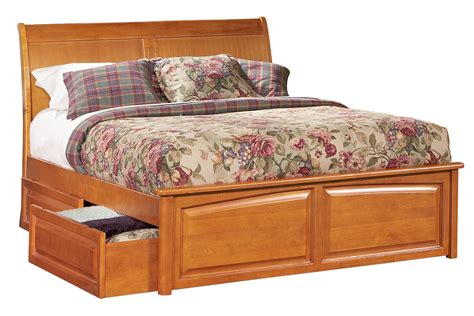 bed with storage drawers bordeaux platform bed raised panel footboard also beds