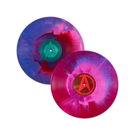 colored vinyl horner trek ii the wrath of khan colored vinyl