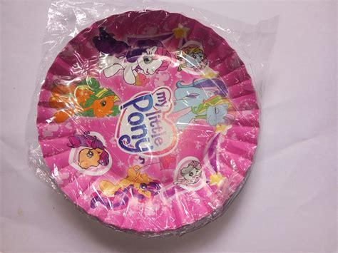 Murah Piring Kertas Kue Piring Kertas Silver Ekonomis jual grosir perlengkapan ulang tahun murah difie toys