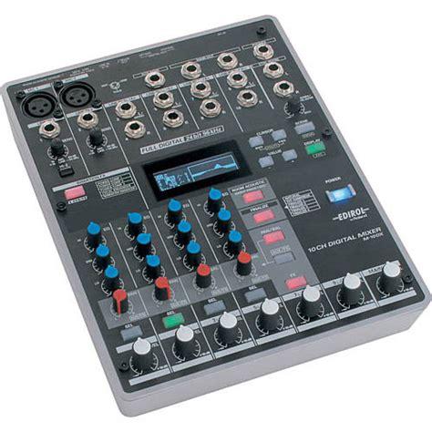 Mixer Edirol edirol roland m 10dx 10 channel digital audio mixer m 10dx