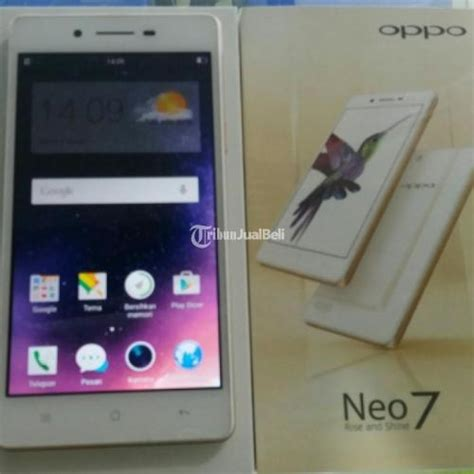 Hp Oppo Neo 7 Warna Putih smartphone murah meriah oppo neo 7 putih cocok buat selfie seken ada garansi fullset surakarta