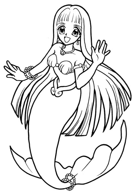 mermaid melody coloring pages mermaid melody pinterest