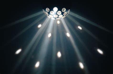 qtx fireball disco light effect 3w led white ceiling