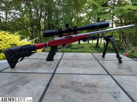 bench rifles armslist for sale trade ruger 10 22 22lr custom target