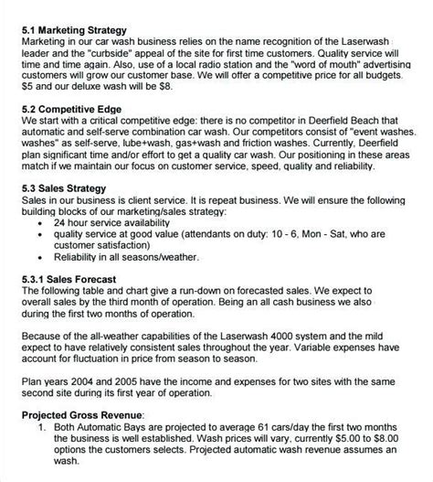 Free Sle Radio Station Business Plan Radio Station Marketing Plan Template