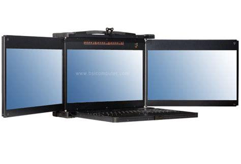 Monitor Portable rmk173tp portable hd monitor and keyboard console bsicomputer