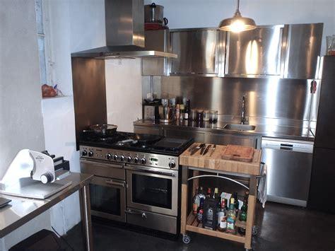 plan de travail inox cuisine photos de r 233 alisations cuisine inox cuisinezinox