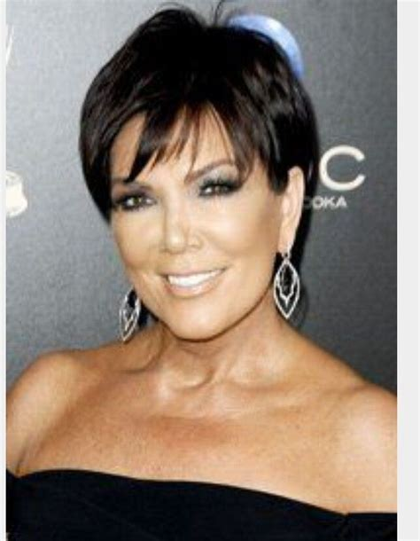 kris jenner face shape 17 best images about hair on pinterest pixie hairstyles