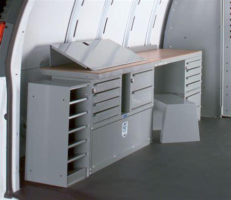 van work bench ford econoline owners van upfits you need adrian steel