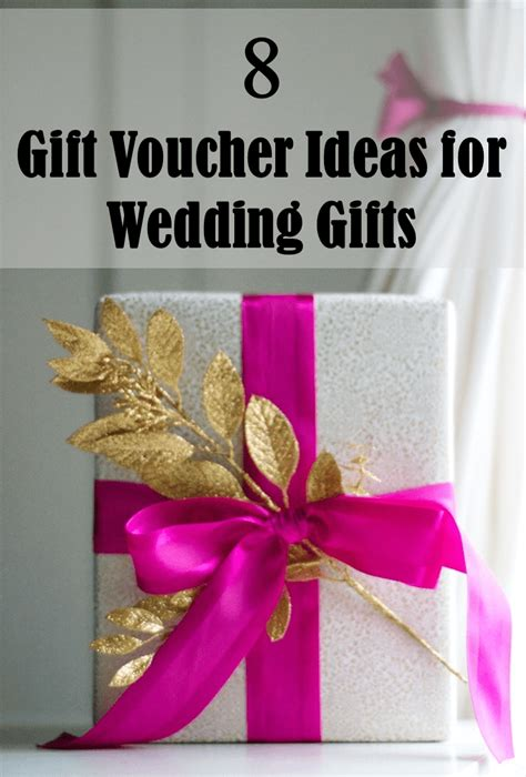 Wedding Gift Voucher Ideas by 8 Gift Voucher Ideas For Wedding Gifts Frugal2fab
