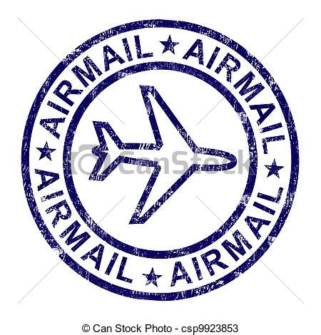 eps international mail drawings of airmail st shows international mail delivery airmail csp9923853 search