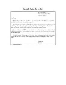 Friendly Resignation Letter Template by Friendly Letter Writing Sles The Best Letter Sle