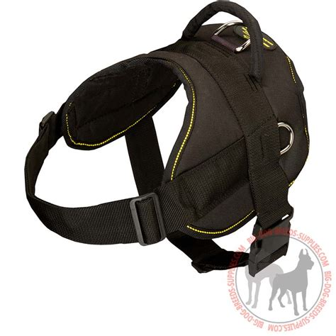 padded harness all weather doberman harness pulling walking