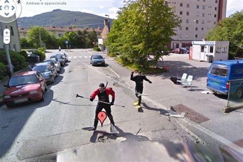 imagenes raras de google street view personas raras en google street view taringa