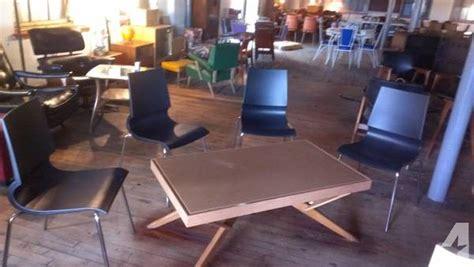 castro convertible coffee table for sale classic mid century castro convertible table and 4 knoll