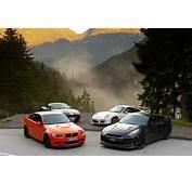 BMW M3 GTS V Porsche 911 GT3 RS Nissan GT R Spec