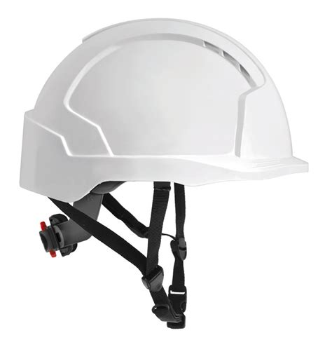the most comfortable hard hat evolite linesman helmet ratchet harness 4pt chinstrap