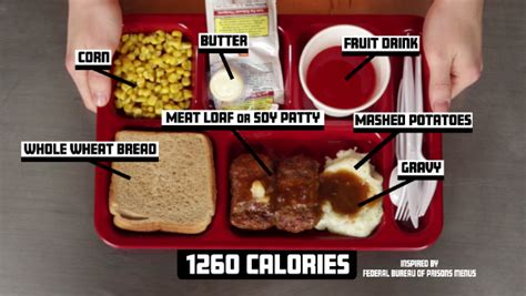 pr馗ision cuisine try meals from the federal bureau of prison