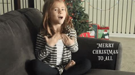 sign language christmas gif  asl nook find share  giphy