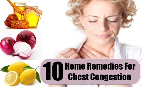 Home Remedy For Chest Congestion home remedies for asthma and chest congestion