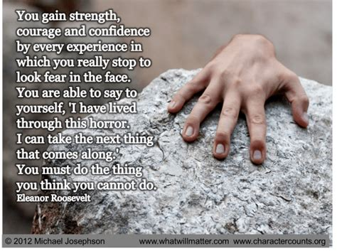 courage for discover a of confidence and opportunity books strength and courage quotes quotesgram