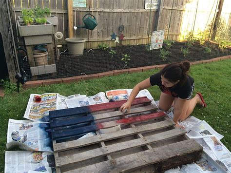 painting pallet tips and ideas hometalk american flag pallet art