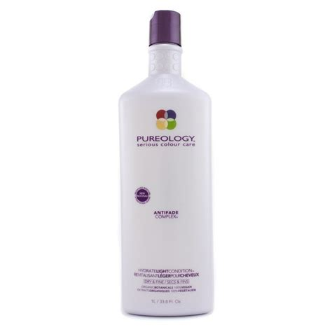 pureology hydrate light conditioner pureology hydrate light conditioner for dry fine hair