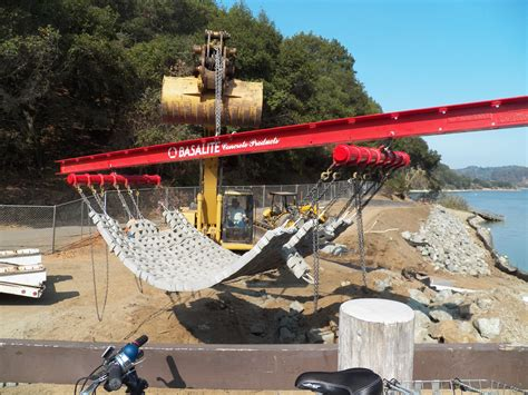 articulating concrete block mat solutions basalite