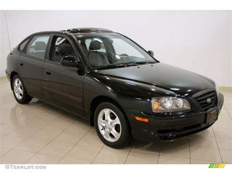 Gray Green Paint 2006 Ebony Black Hyundai Elantra Gt Hatchback 42874120