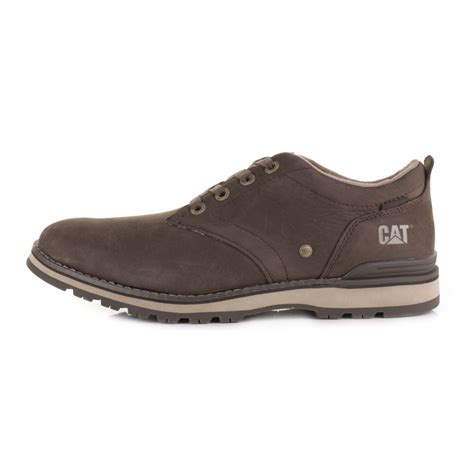 mens cat rayden caterpillar oxford brown leather