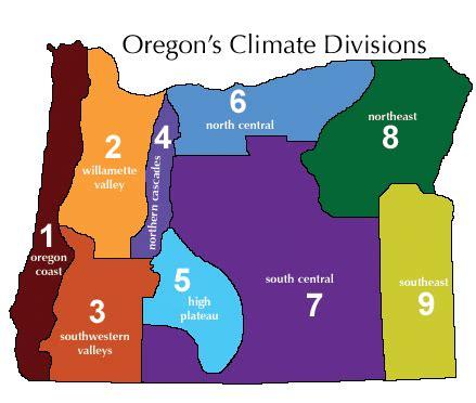 oregon temperature map oregon cannabis appellation regions a oregon