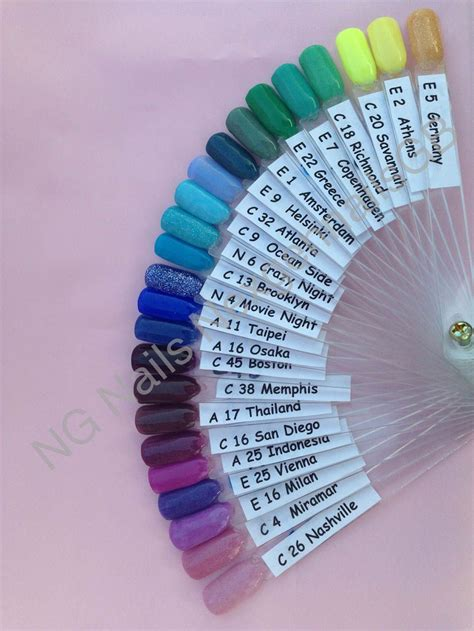 nexgen nails color chart best 25 nexgen nails colors ideas on pink